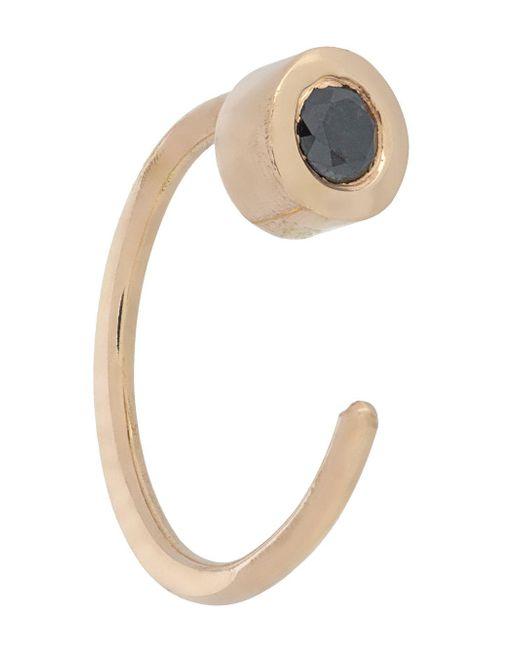 Melissa Joy Manning black tourmaline earrings - Metallic GSHXoq58B