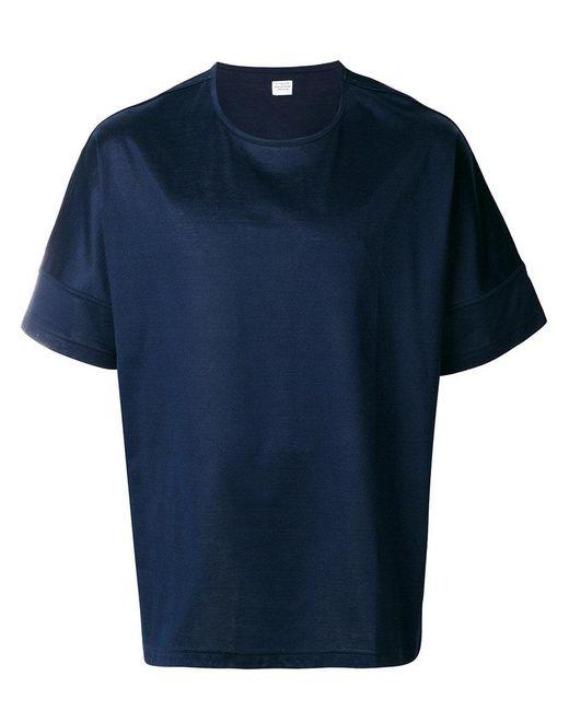 E. Tautz | Blue Wide Fit T-shirt for Men | Lyst