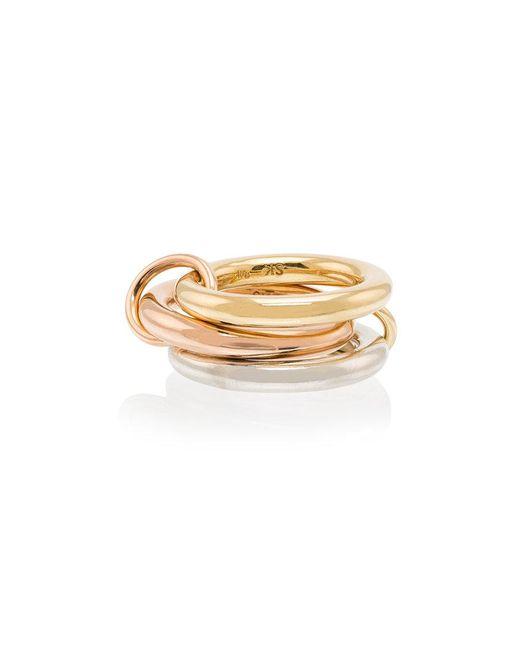 Spinelli Kilcollin - Metallic 18kt Gold 3 Link Ring - Lyst