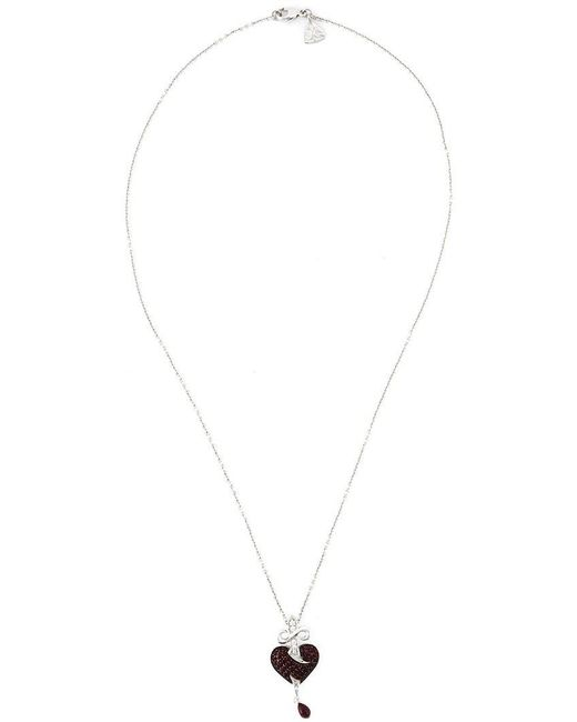 Stephen Webster - Black Sword Ruby Heart Pendant Necklace - Lyst