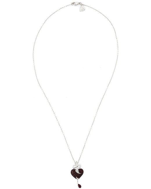 Stephen Webster - Black Sword Ruby Heart Pendant Necklace - Lyst