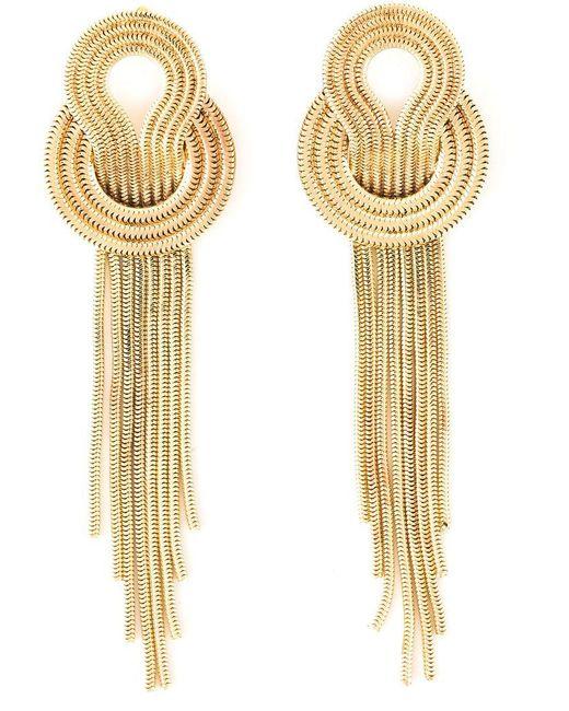 Lara Bohinc   Yellow 'saturn' Earrings   Lyst