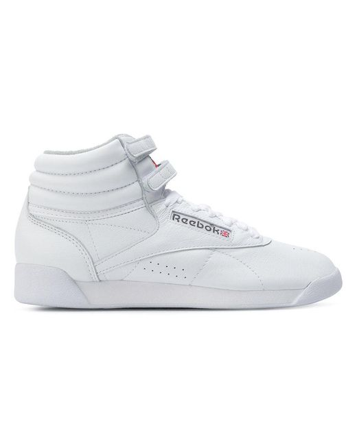 0716498a298 Reebok - White Hi-top Sneakers for Men - Lyst ...