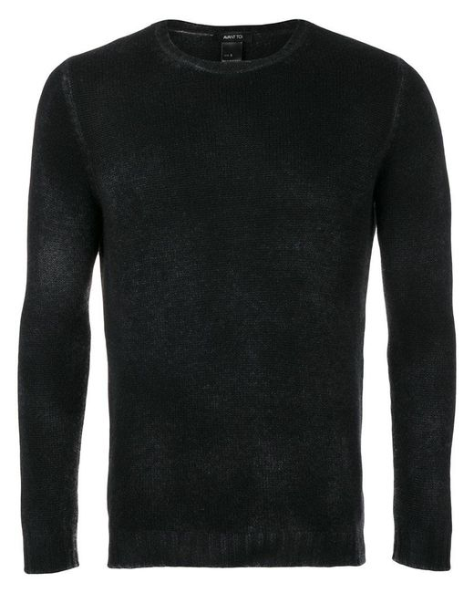 Avant Toi | Black Crew Neck Sweater for Men | Lyst