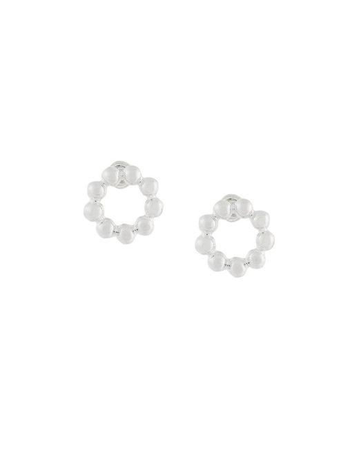 Astley Clarke | Metallic Beaded Stilla Stud Earrings | Lyst