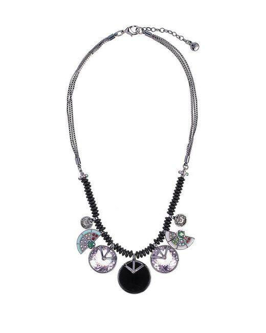 Camila Klein - Multicolor Resin Pendant Necklace - Lyst