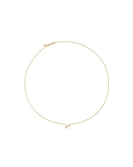 Sydney Evan | Metallic Collana Con Diamanti 'sagittarius' | Lyst