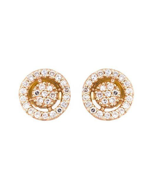 Astley Clarke - Metallic Mini 'icon Aura' Diamond Stud Earrings - Lyst