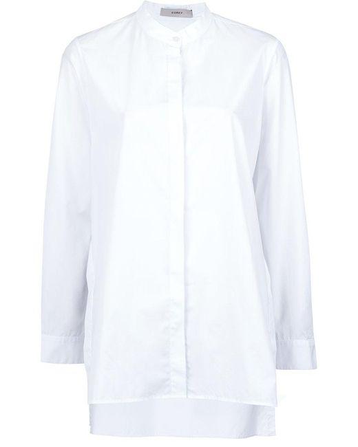 Egrey - White Long Sleeved Shirt - Lyst