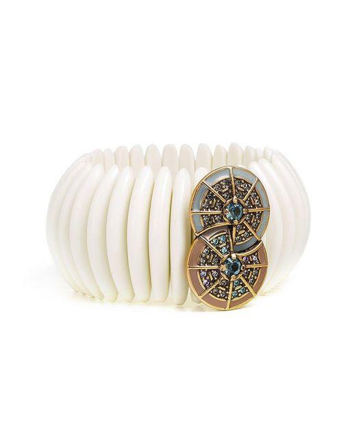 Camila Klein - Multicolor Embellished Resin Bracelet - Lyst