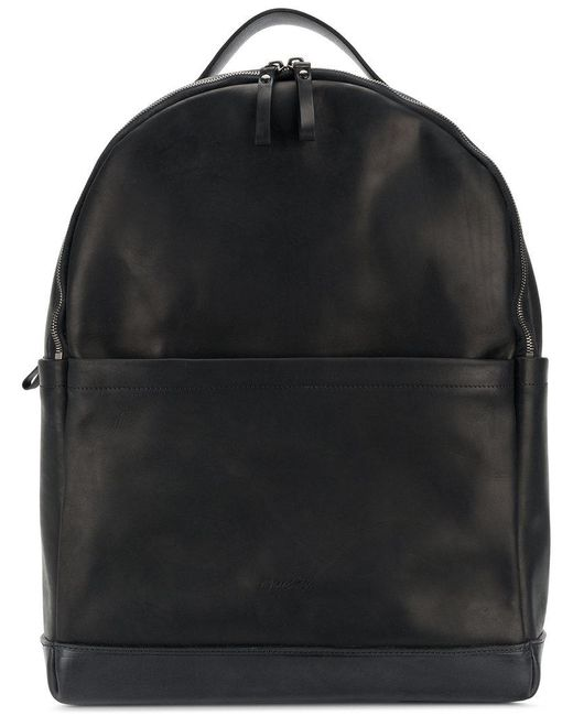 Marsèll - Black Large Double Compartment Backpack for Men - Lyst