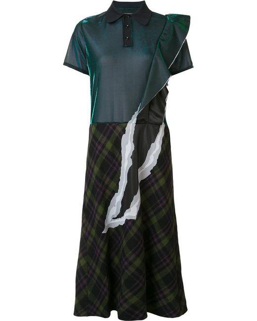 Maison Margiela | Green Fused Shirt Dress | Lyst