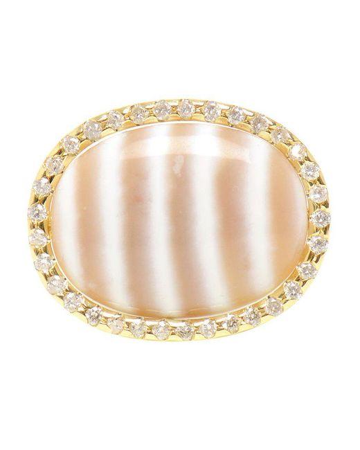 Kimberly Mcdonald - Metallic Chalcedony And Diamond Ring - Lyst