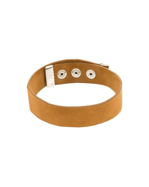 Manokhi - Brown 'karmen' Choker - Lyst