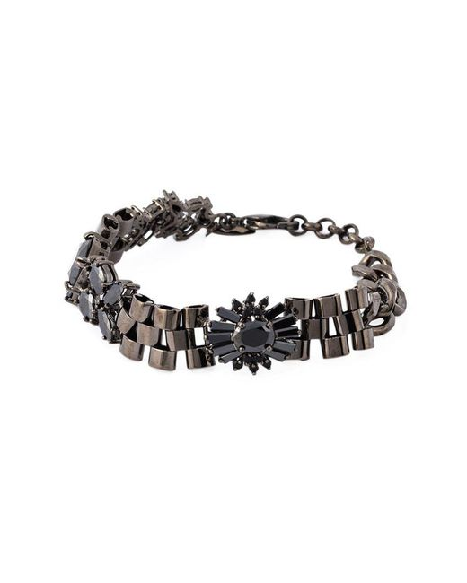 Iosselliani | 'black On Black Memento' Bracelet | Lyst
