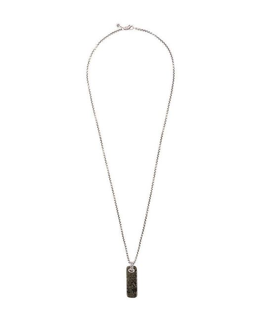 John Hardy - Metallic Silver Classic Chain Necklace With Apache Gold Pendant for Men - Lyst