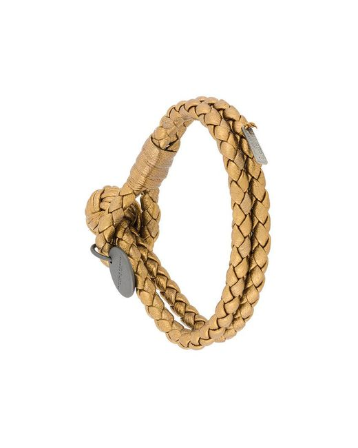 Bottega Veneta | Metallic Rope Bracelet | Lyst