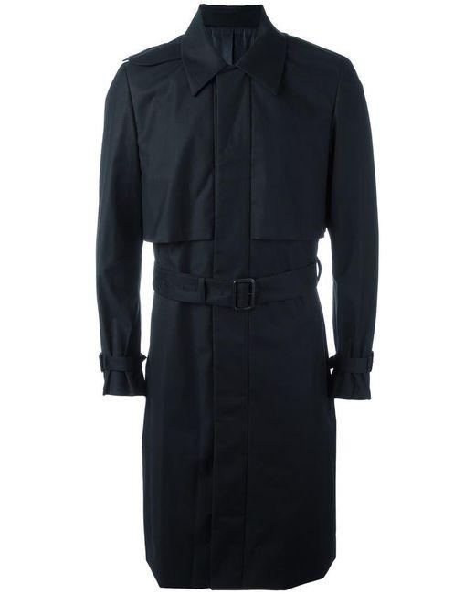 Juun.J | Blue Pocketed Belted Trench Coat for Men | Lyst