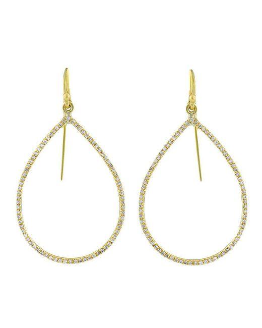 Irene Neuwirth - Metallic Gold Pear Shape Earrings - Lyst