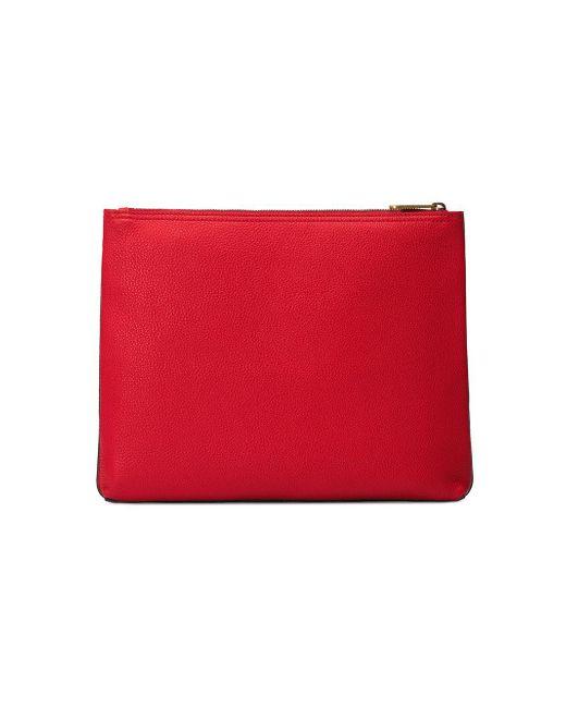 ... Gucci - Red Portfolio moyen format en cuir imprimé for Men - Lyst ... 70519a86b80