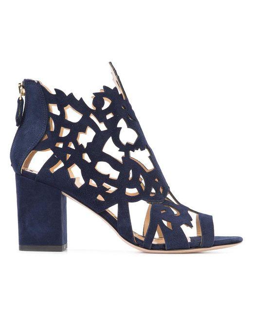 Marchesa - Blue Jana Sandals - Lyst