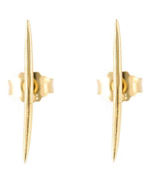 Wouters & Hendrix | Metallic Thorn Stud Earrings | Lyst