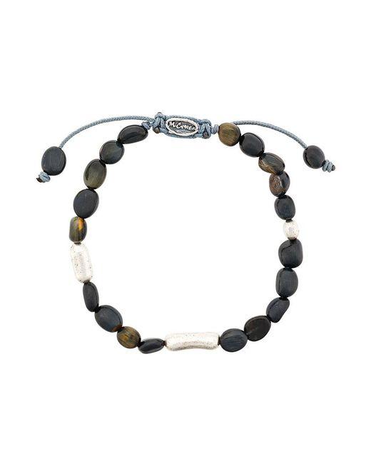 M. Cohen - Brown Stone Beads Bracelet - Lyst