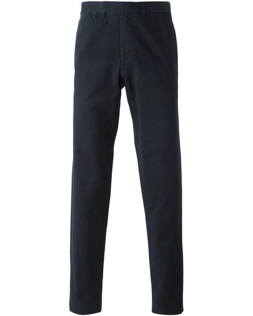 Fashion Clinic Timeless - Blue Chino Trousers for Men - Lyst