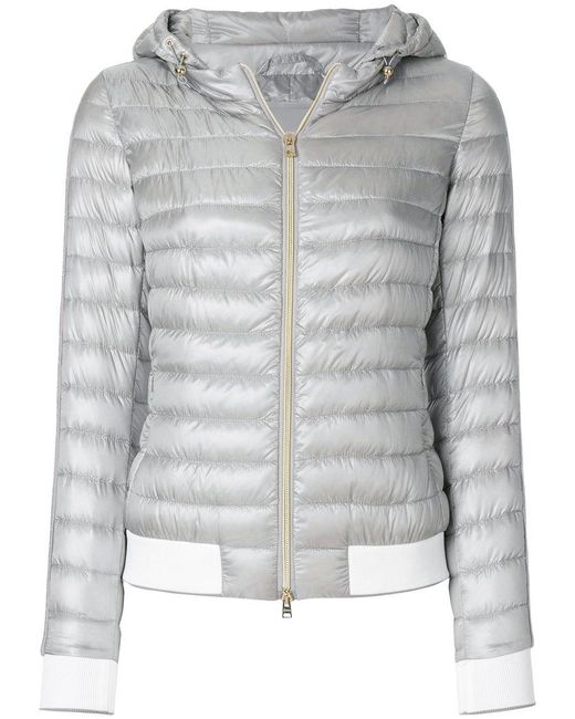 Herno - Gray Ultralight Luxury Gym Jacket - Lyst