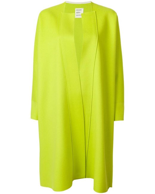Maison Rabih Kayrouz - Green Tailored Fitted Coat - Lyst