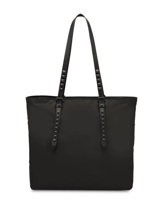 c2174af5a97c ... Prada - Black Stud Embellished Tote Bag - Lyst ...