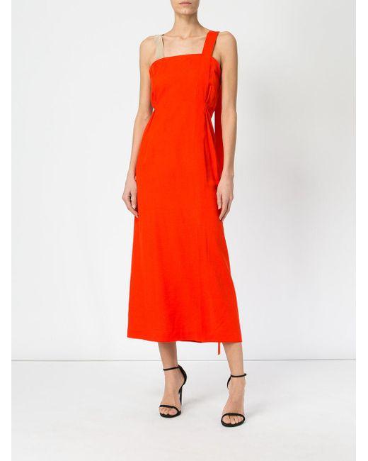 fitted waist dress - Yellow & Orange Litkovskaya BNme6jKdy