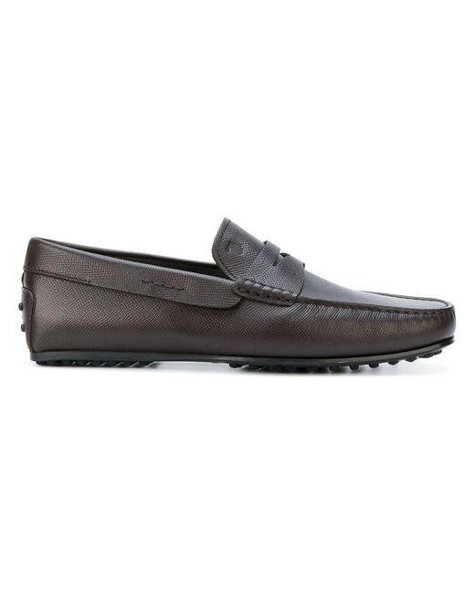 Tod's | Brown City Loafers for Men | Lyst