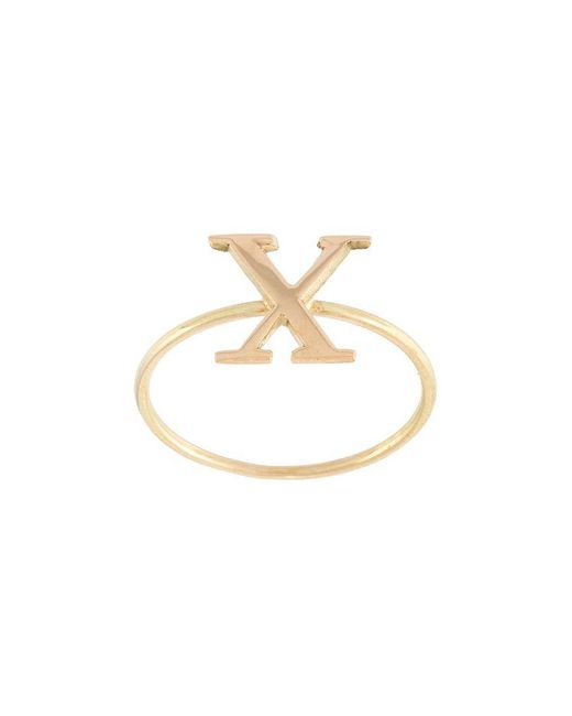 Wouters & Hendrix - Yellow 'x' Ring - Lyst
