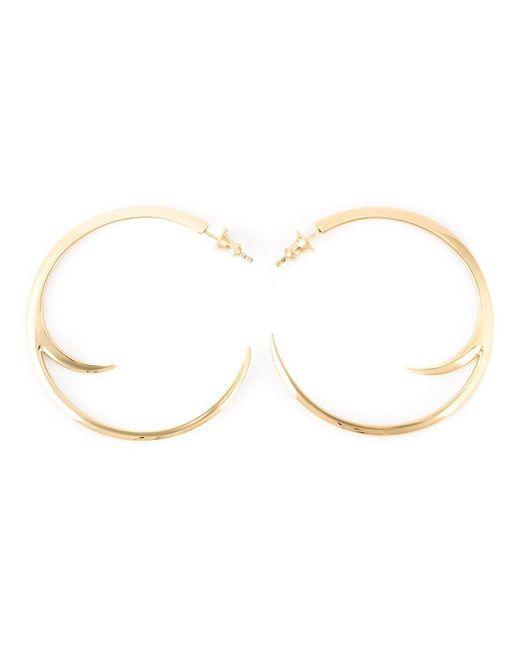 Shaun Leane | Metallic Cat Claw Hoop Earrings | Lyst