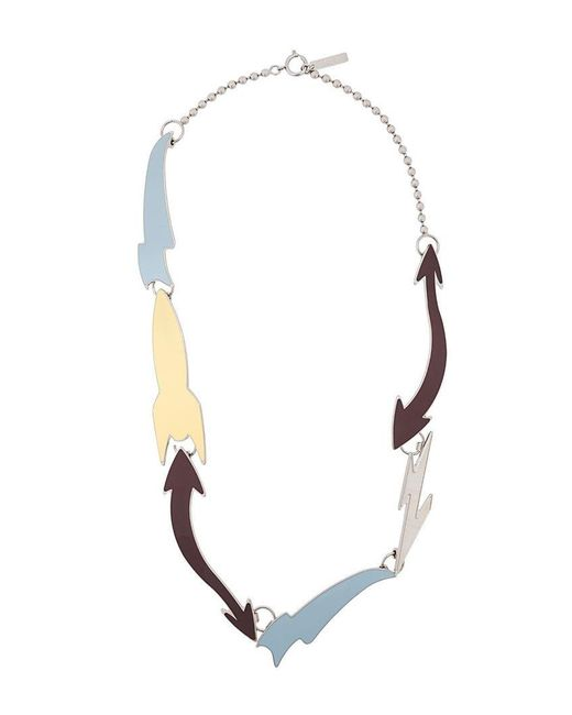Marni - Blue Abstract Necklace for Men - Lyst