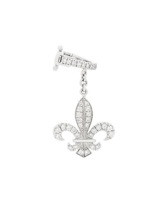 Elise Dray - Metallic Crown Cuff Drop-earring - Lyst