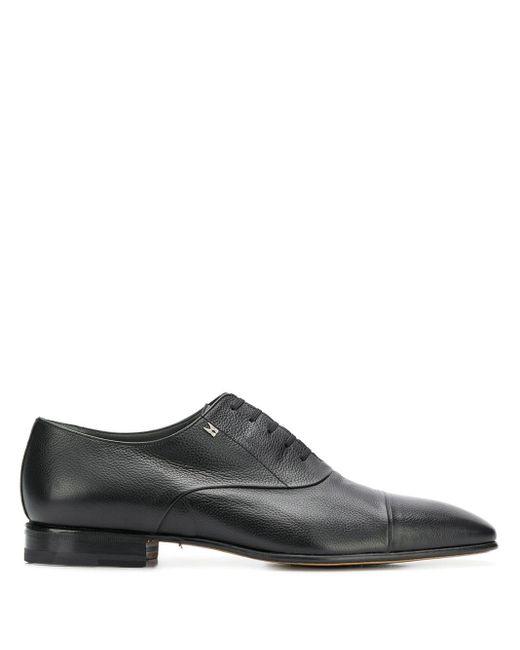 Туфли Дерби С Квадратным Носком Moreschi для него, цвет: Black