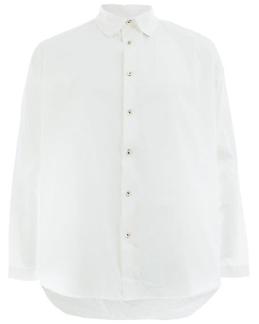 Geoffrey B. Small - White Classic Button Shirt for Men - Lyst