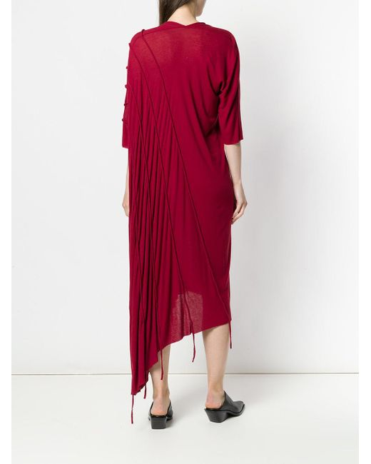 Outlet Free Shipping Sale Explore draped midi sweater dress - Red Masnada Particular Outlet 2018 Cheap Sale Brand New Unisex yJFtyjim