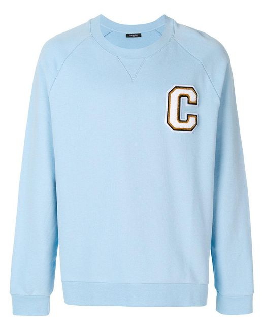 Calvin Klein Jeans - Blue Loose Fit Sweatshirt for Men - Lyst