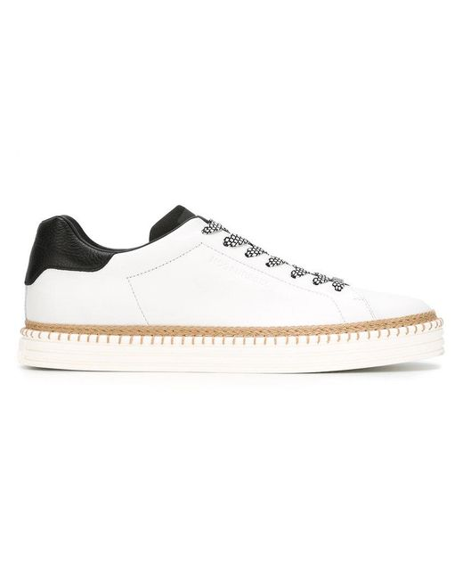 Hogan Rebel | White Lace-up Sneakers for Men | Lyst