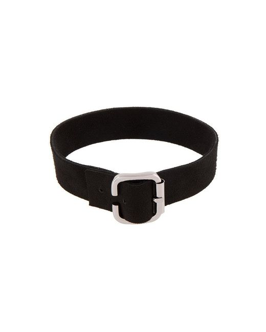 Manokhi - Black Buckled Collar - Lyst