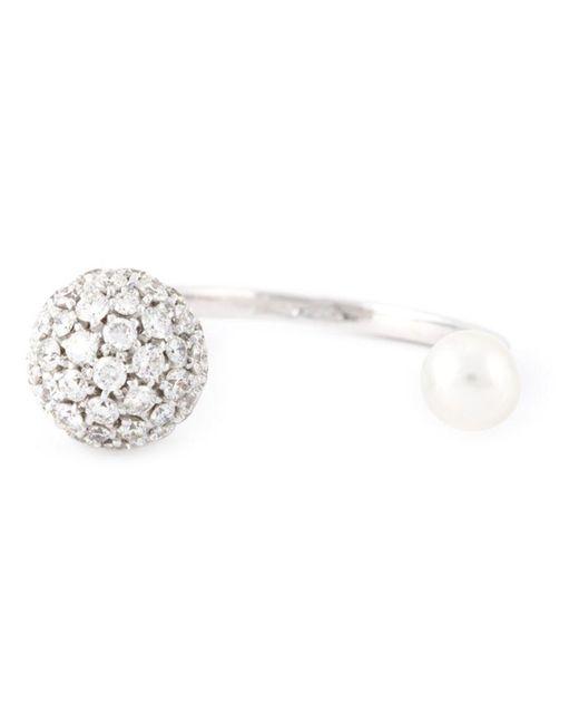 Delfina Delettrez | Metallic 'roll Sphere' Ring | Lyst