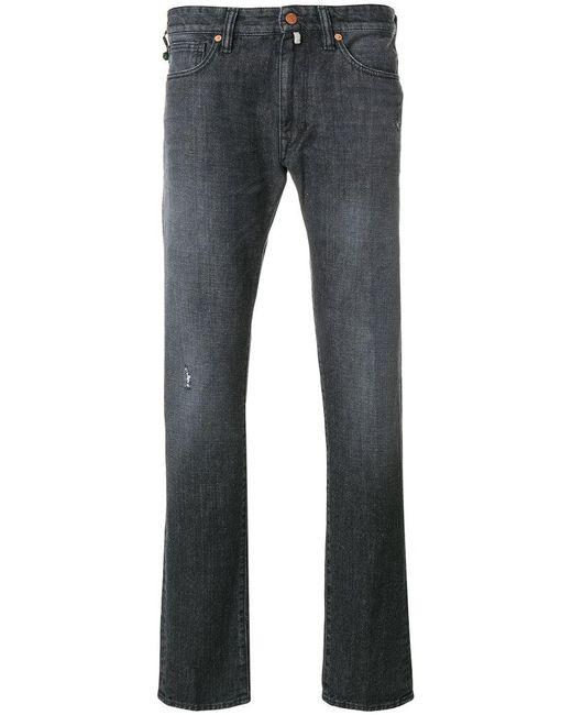 Incotex | Gray Straight-leg Jeans for Men | Lyst