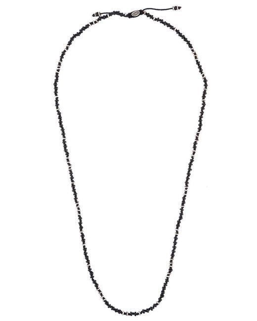 M. Cohen - Black '4 Layer Templar Mini Gems' Necklace for Men - Lyst