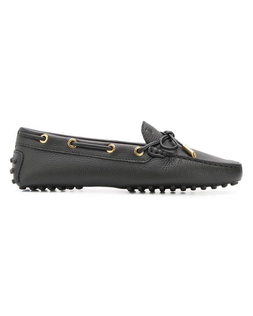 8a59af8dd55 Lyst - Tod s Gommino Loafers in Black - Save 17%