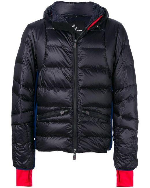 moncler grenoble mouthe giubbotto jacket in blue for men lyst. Black Bedroom Furniture Sets. Home Design Ideas