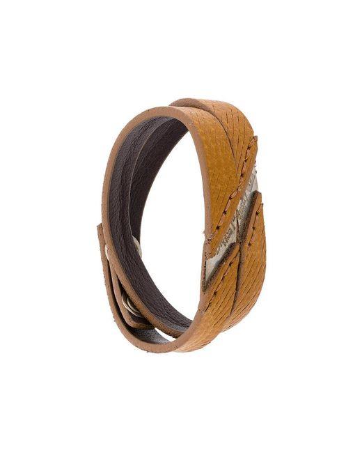 DIESEL   Brown Aline Bracelet for Men   Lyst