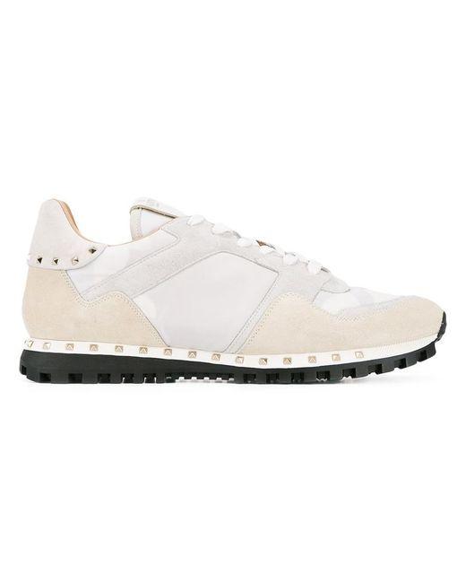 Valentino | White Garavani Soul Rockrunner Sneakers for Men | Lyst